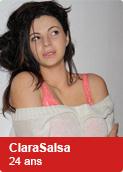 ClaraSalsa, 24 ans